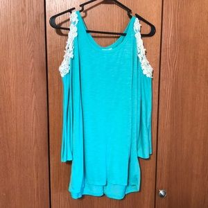Mint colored Charlotte Russe Top